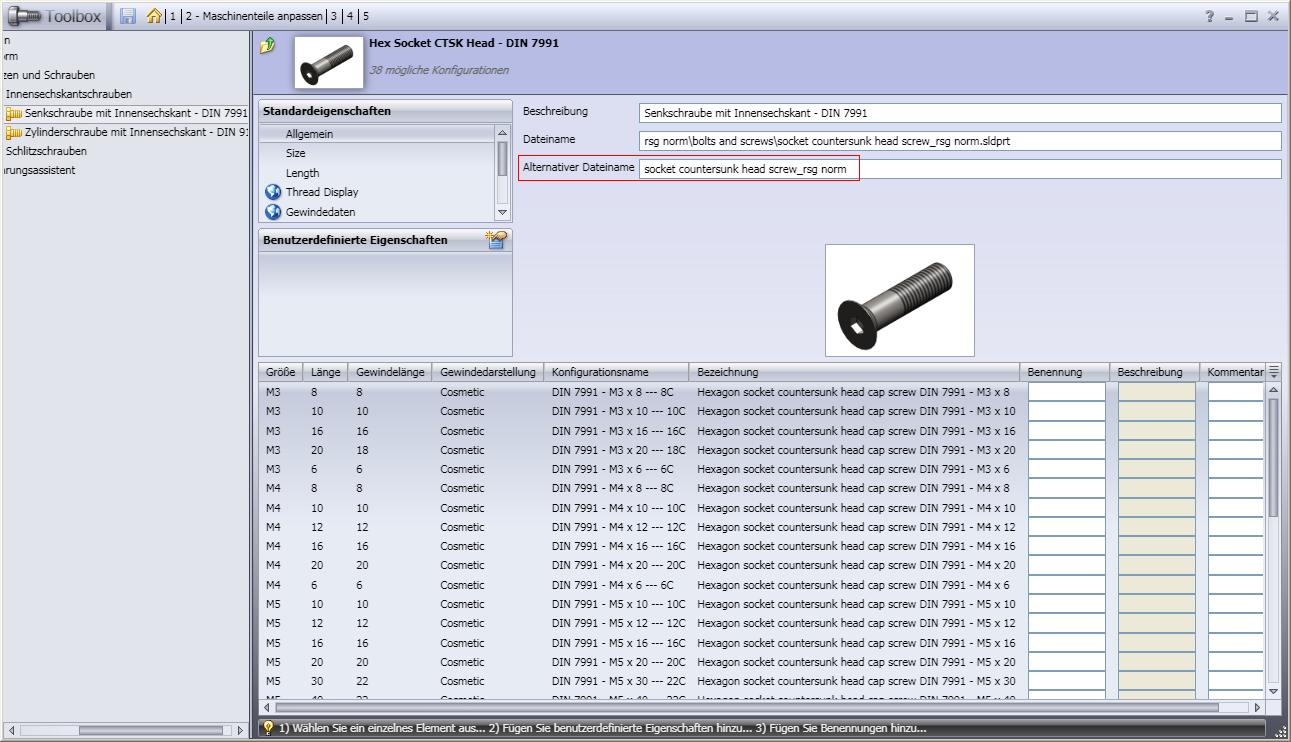 how to open solidworks toolbox