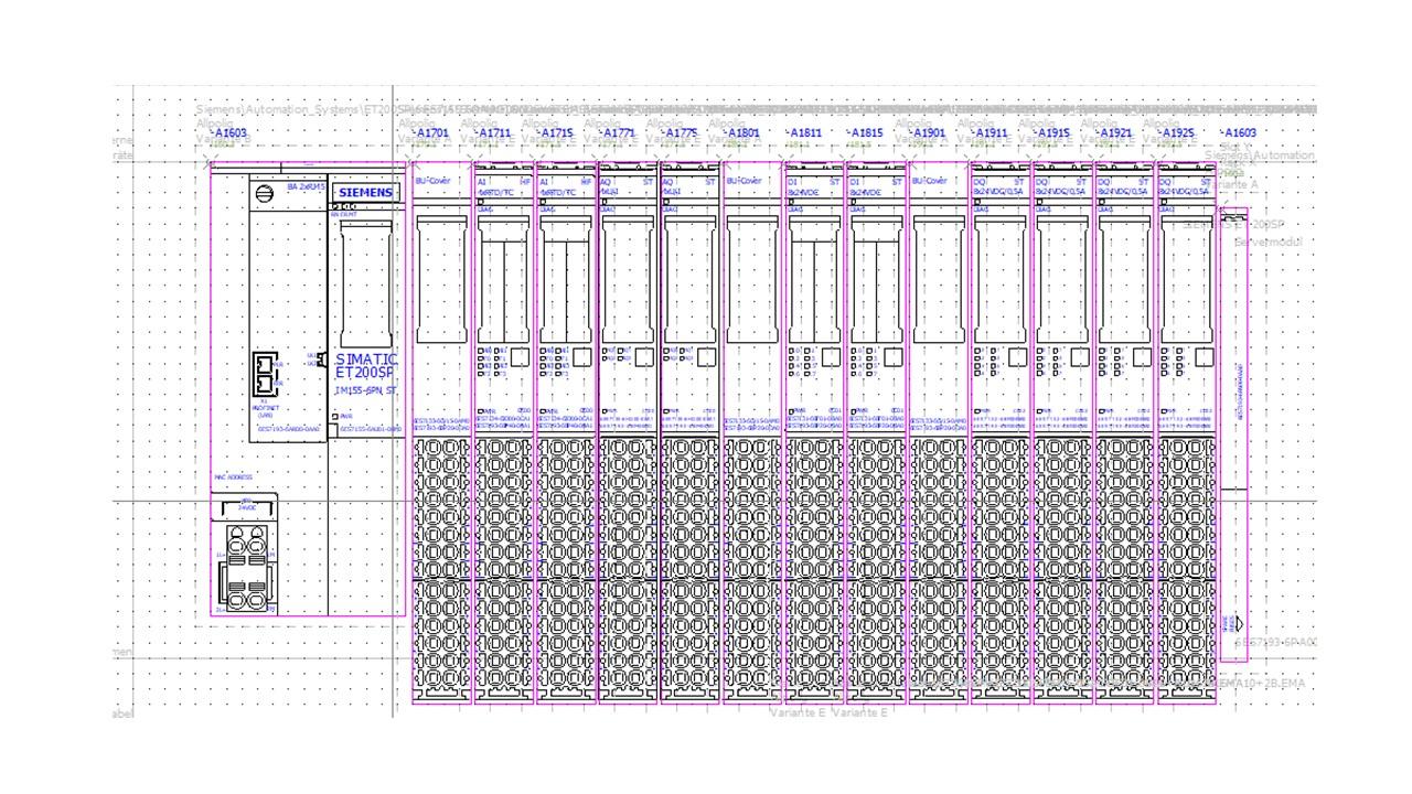 Sps Datenexport Zu Tia Portal Elektrotechnik Eplan Electric P8 E Plan Electrical Tutorial Knotenubersicht