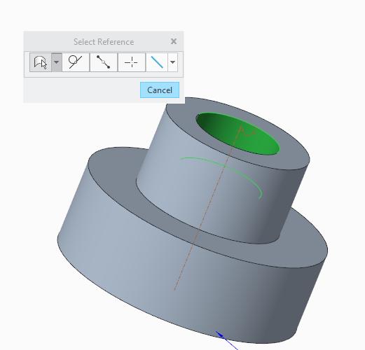 Durchmesserbemaßung anbringen (PTC Engineering Solutions ...