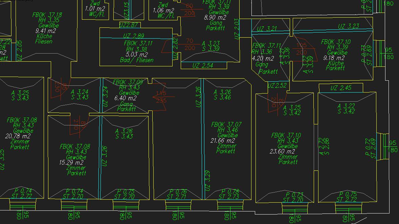 3d modell aus grundriss erstellen autodesk rund um autocad. Black Bedroom Furniture Sets. Home Design Ideas