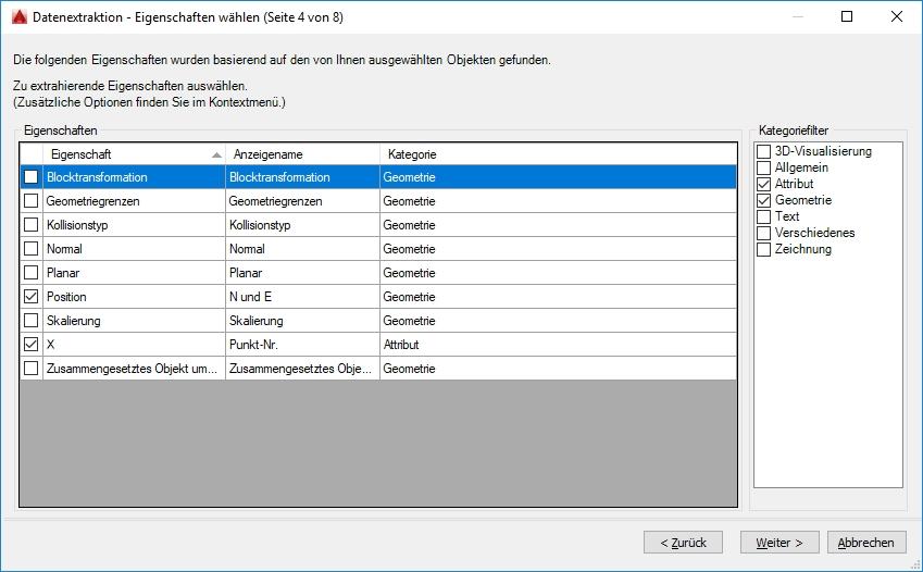Koordinatenpunkte in eine Tabelle (Autodesk/Rund um AutoCAD) - Foren auf CAD.de