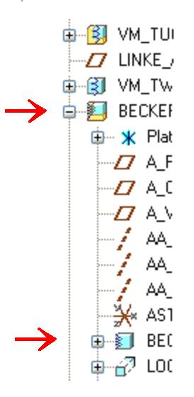 Was bedeuten diese Komponenten-Symbole im Modellbaum? (PTC ...