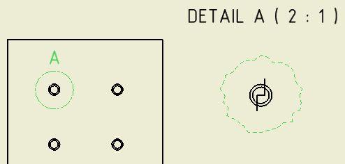 Schnitt durch eine Detailansicht (Autodesk/Inventor ...