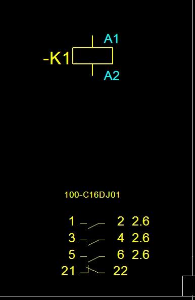 Schütz Typenbezeichnung (Elektrotechnik/EPLAN5) - Foren auf CAD.de