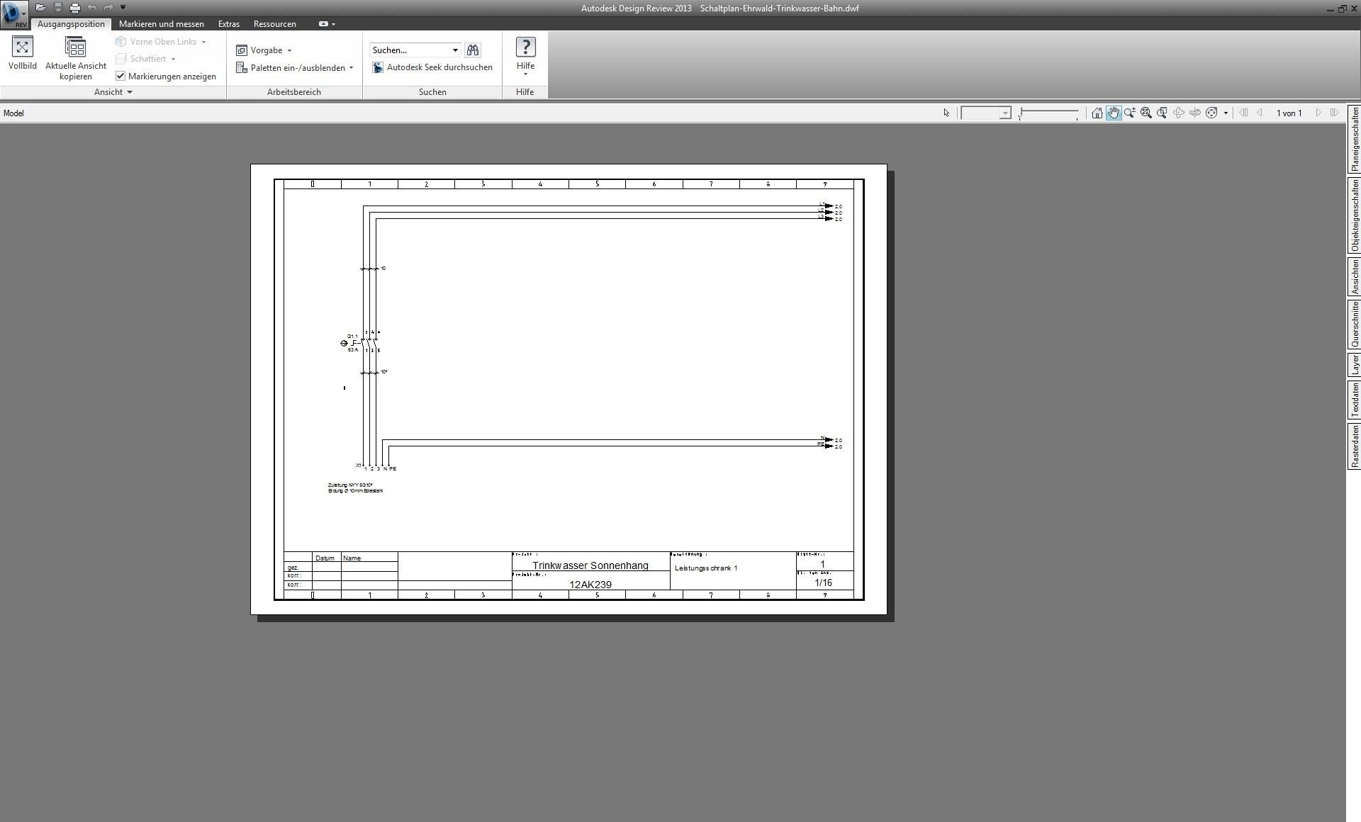 Breite Zeichnung auf mehrere Seiten plotten (Autodesk/Rund um ...