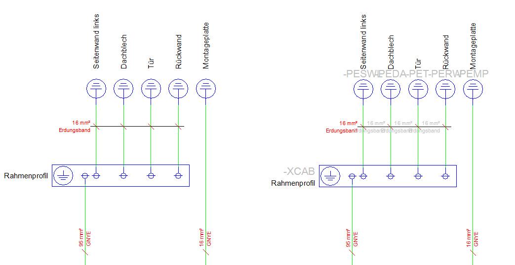 Tür/Gehäuse Erdung (Elektrotechnik/EPLAN Electric P8) - Foren auf CAD.de