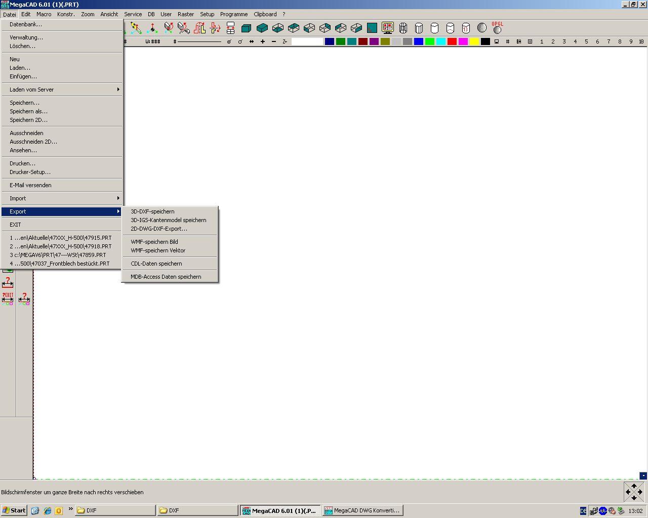 Umwandeln (CAD sonstige/MegaCAD) - Foren auf CAD.de