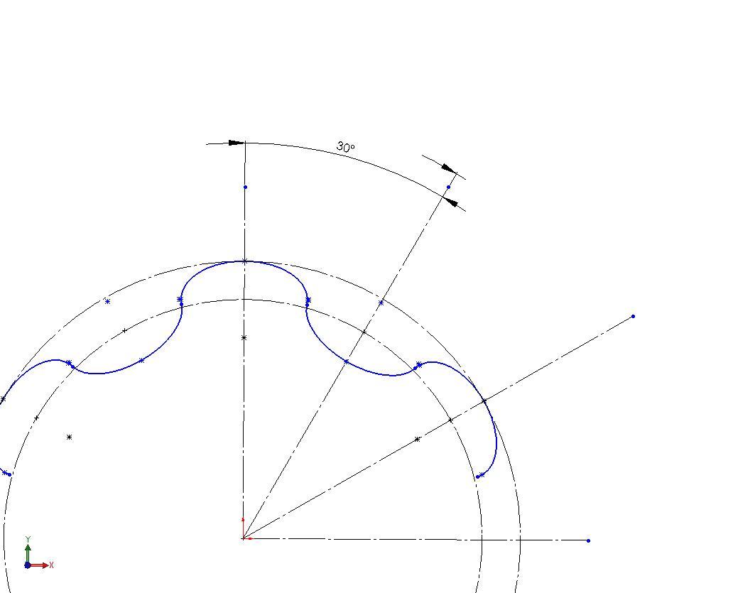 Relativ einfache Skizze für Torx-Plus (DS SolidWorks/SolidWorks) - Foren UF29