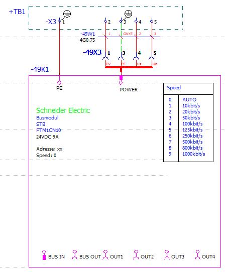 Darstellung stecker allpolig einpolig elektrotechnik for Eplan login