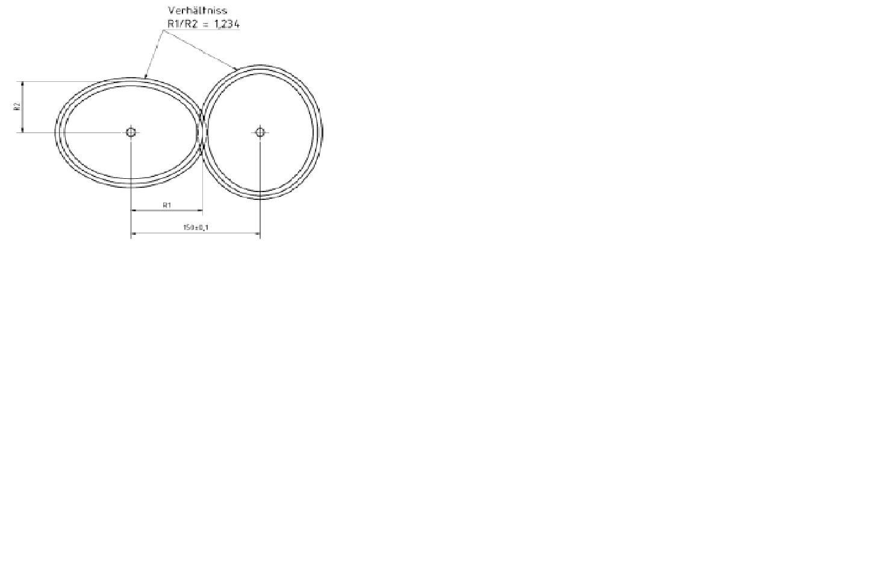 auslegung und konstruktion eines ovalzahnradgetriebes. Black Bedroom Furniture Sets. Home Design Ideas