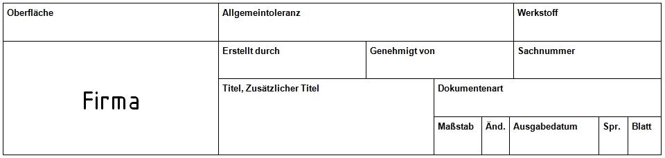 Schriftfeld Din En Iso 7200 Autodesk Inventor Foren Auf Cad De