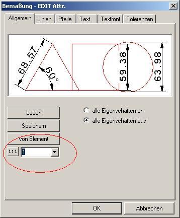 Bemassung im Arbeitsblatt (CAD sonstige/MegaCAD) - Foren auf CAD.de