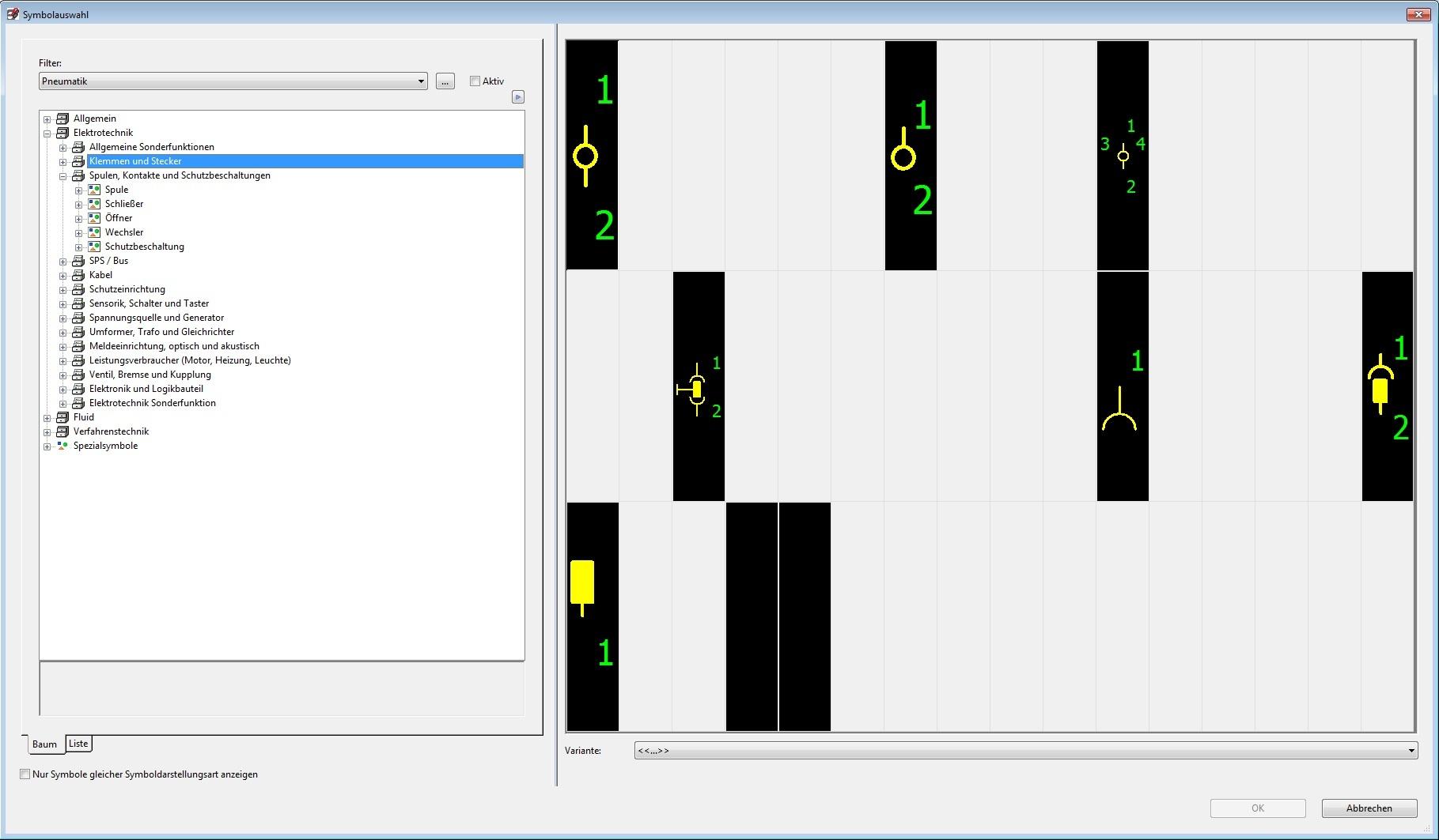 Symbole aus IEC-Bibliothek verschwunden? (Elektrotechnik/EPLAN ...