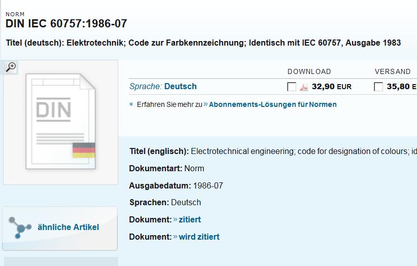 Abkürzung Aderfarbe (Elektrotechnik/EPLAN Electric P8) - Foren auf ...