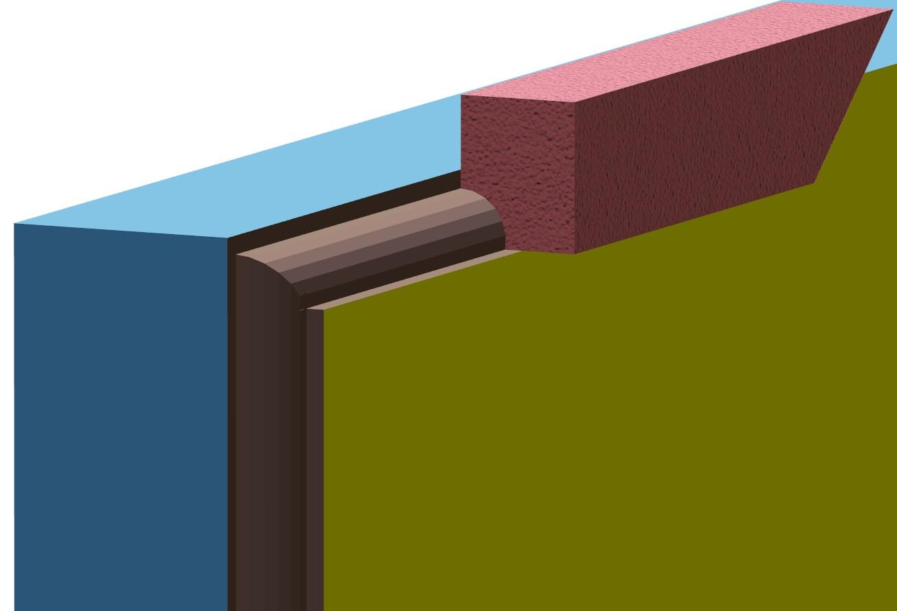 faschen um fenster wei e putzbereiche auf au enmauern fries architektur und bauwesen vicado. Black Bedroom Furniture Sets. Home Design Ideas