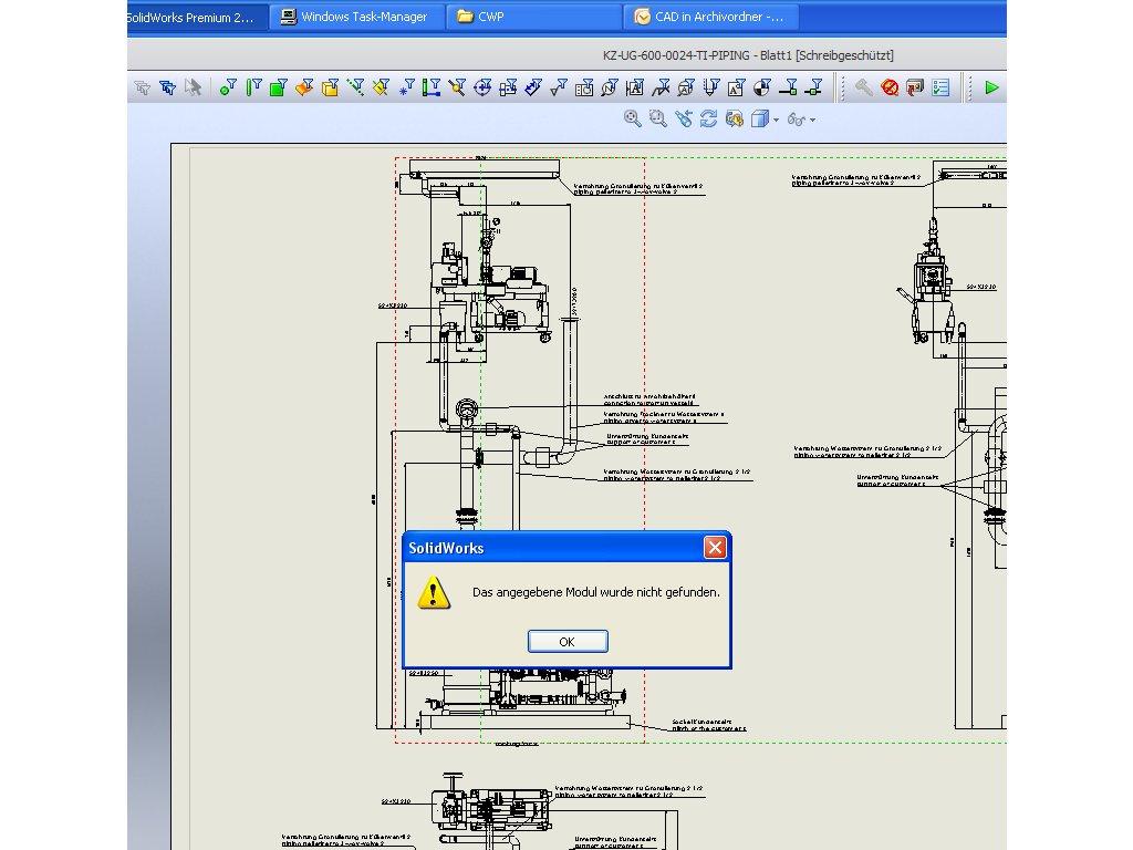 Dxf Fehler Ds Solidworks Foren Auf Cadde Piping Diagram Fehler2