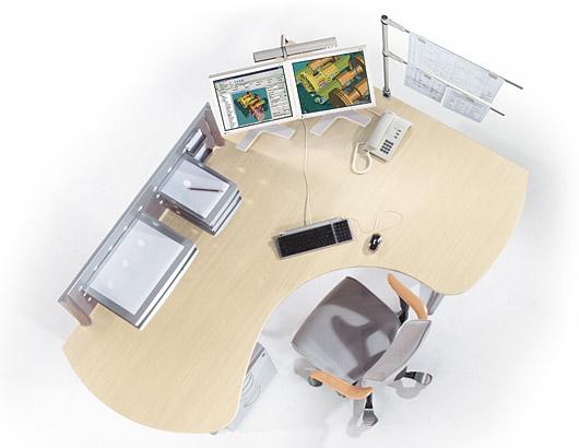 cad arbeitspaltz einrichten cad sonstige megacad foren. Black Bedroom Furniture Sets. Home Design Ideas