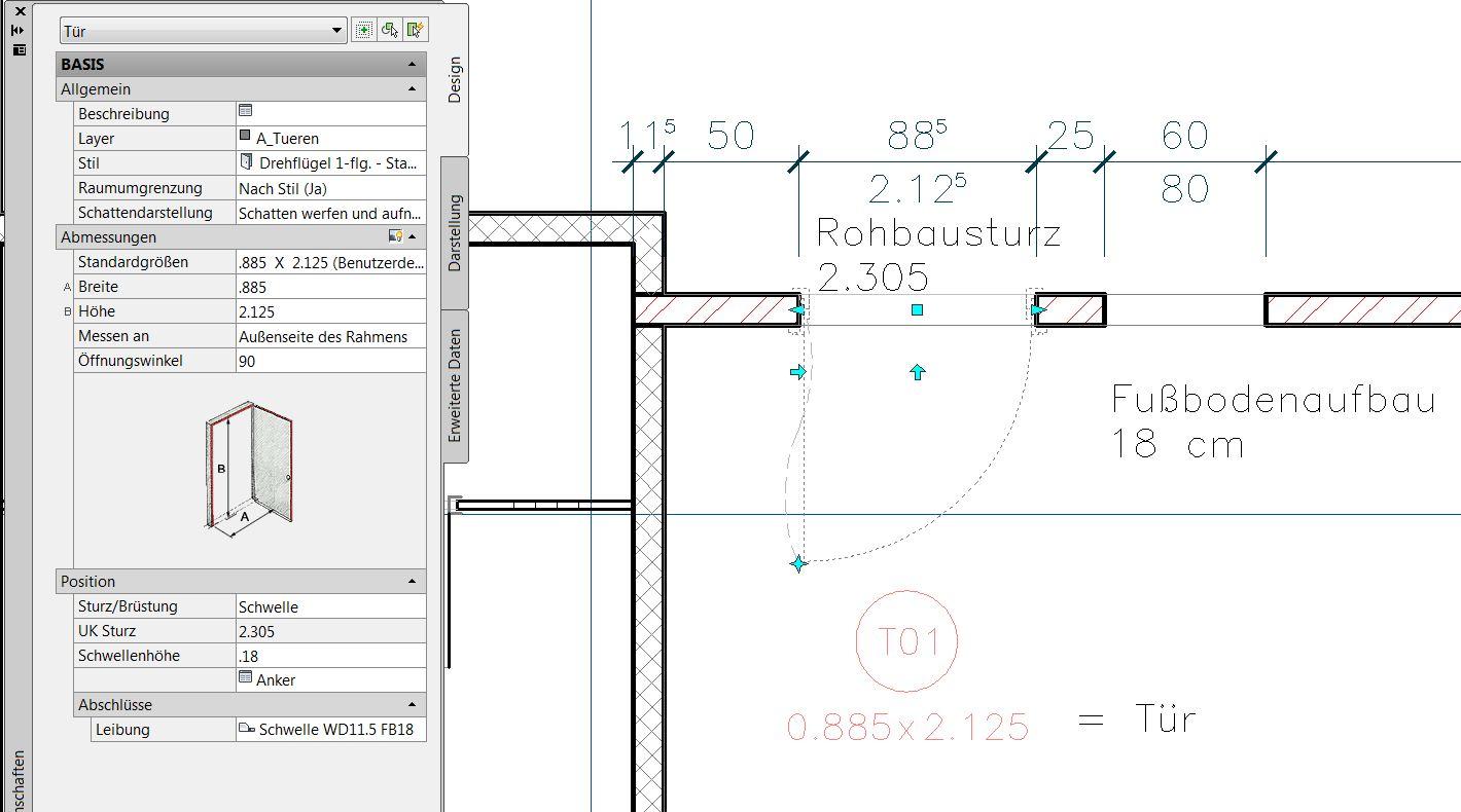 fu bodenaufbau trifft tragende wand autodesk autocad architecture aca adt. Black Bedroom Furniture Sets. Home Design Ideas
