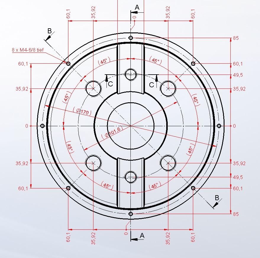 lochkreis welle fertigungsgerecht bema en wissenstransfer anlagen und maschinenbau. Black Bedroom Furniture Sets. Home Design Ideas