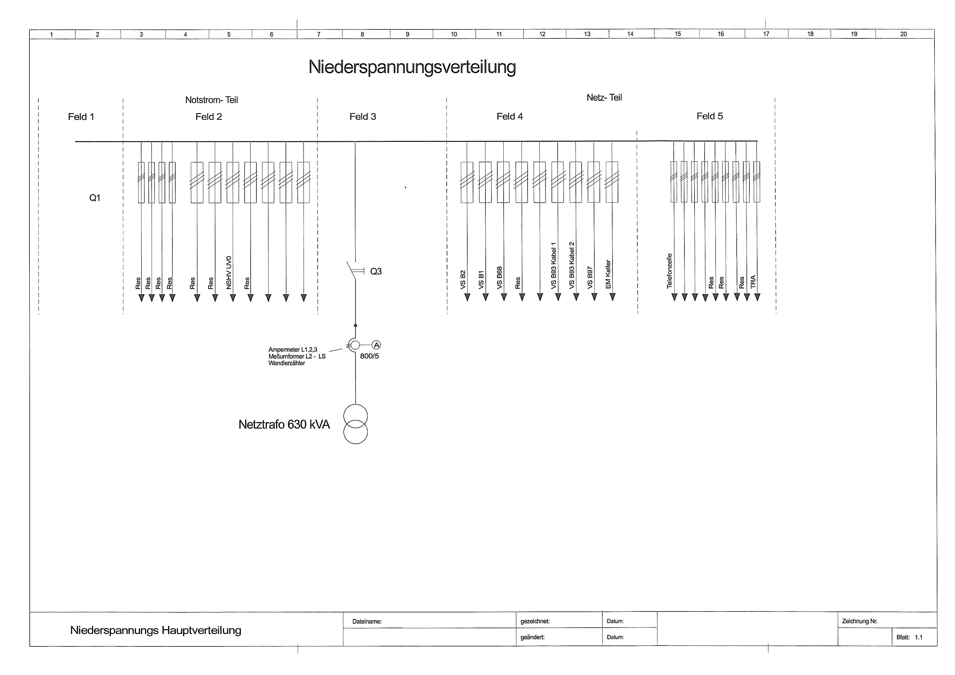 20kv sf6 anlage und 400v verteilung elektrotechnik eplan for Eplan login