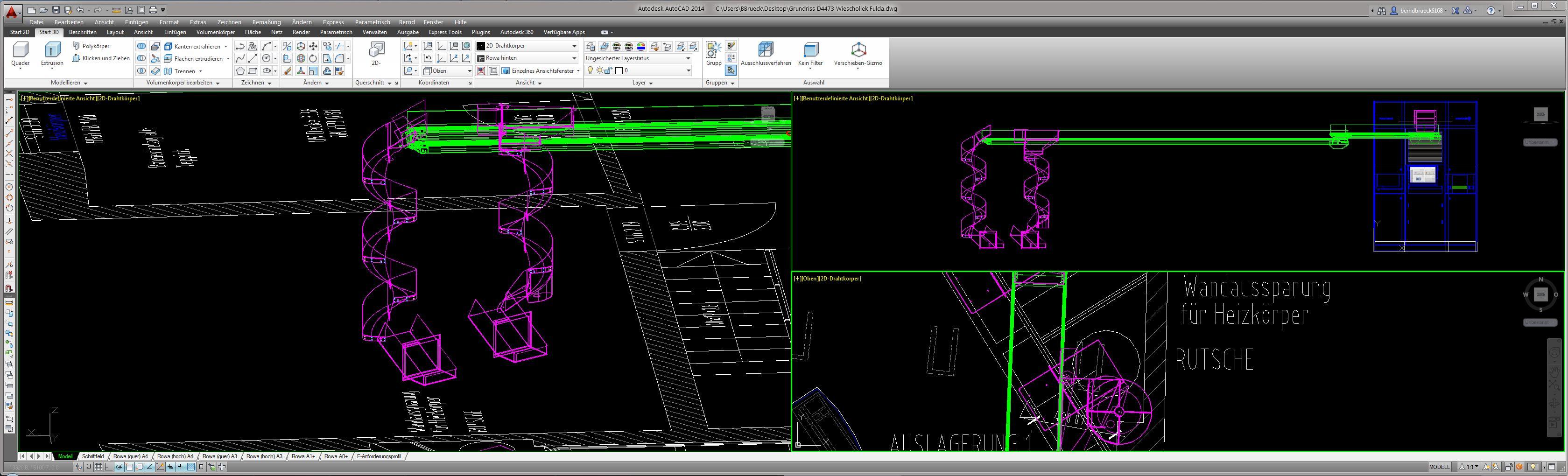 modellansichtsfenster gr e nderen autodesk rund um autocad. Black Bedroom Furniture Sets. Home Design Ideas