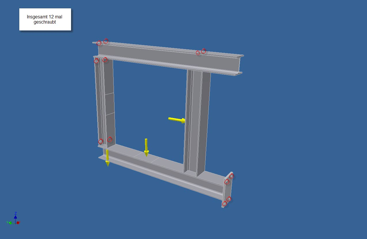 Fem berechnung schraubverbindung autodesk inventor for Fem berechnung