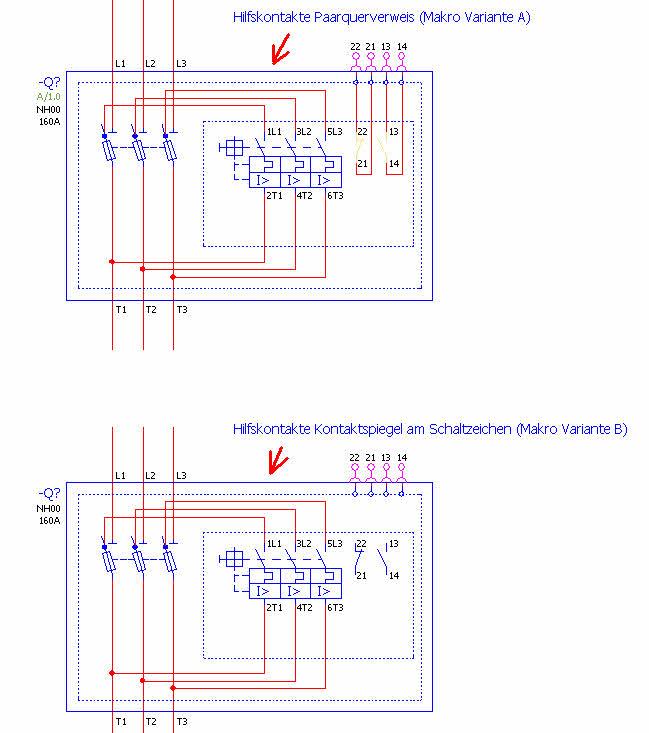 NH-Trenner mit Sicherungsüberwachung (Elektrotechnik/EPLAN Electric ...