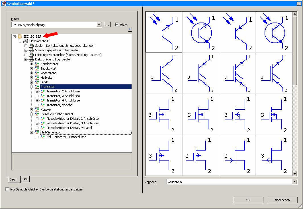 Elektronikbibliothek (Elektrotechnik/EPLAN Electric P8) - Foren ...