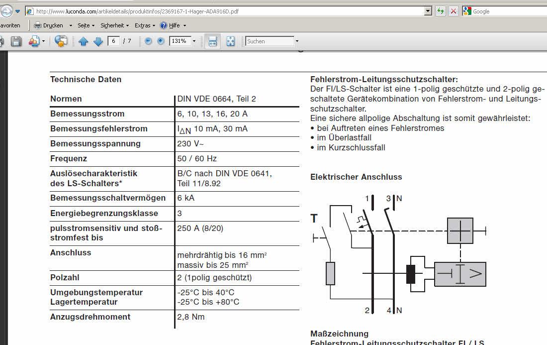 Symbol FI/LS Schalter (Elektrotechnik/EPLAN Electric P8) - Foren auf ...