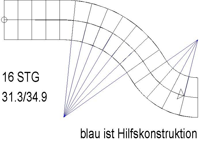 Berühmt verziehen einer Treppe (Architektur und Bauwesen/Nemetschek IC46