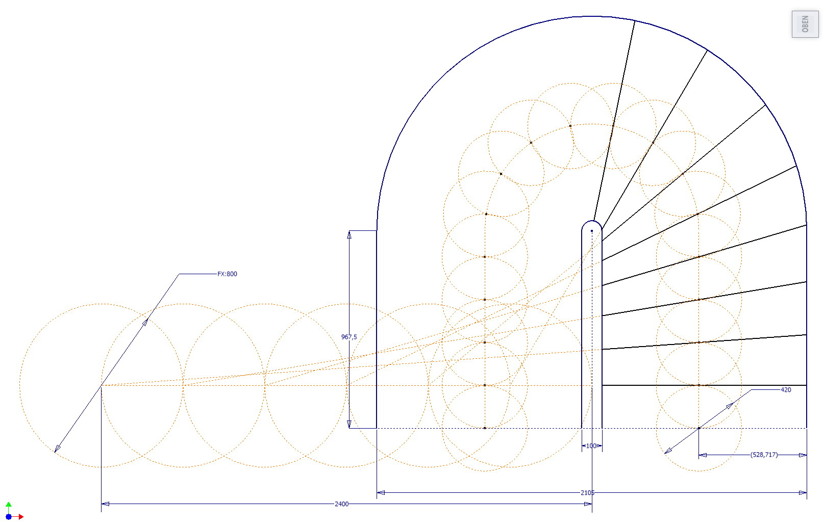treppengel nder aus einem st ck autodesk inventor. Black Bedroom Furniture Sets. Home Design Ideas