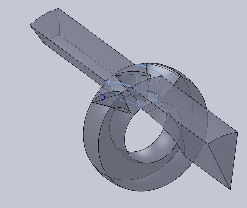 Volumen Trennen Mit 3d Skizze Ds Solidworks Solidworks Foren