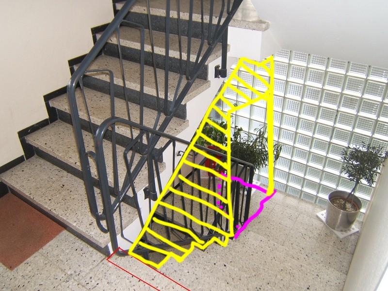Sehr Treppenhaus Umbau aus 2 Etagen = 1 Wohnung (Plauderecke/Heisse XM26