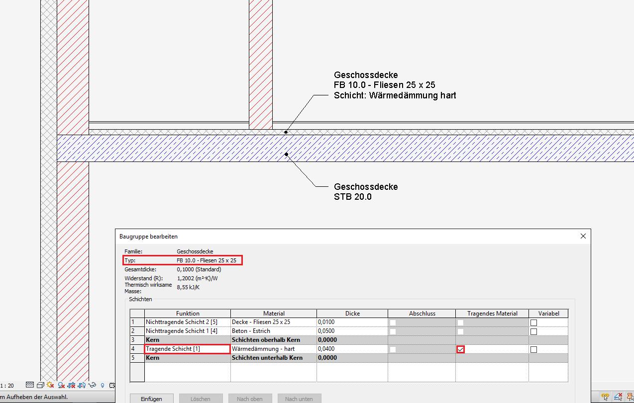 FFB Dämmung Tragend AutodeskAutoCAD Revit Architecture Suite - Fliesen maße standard