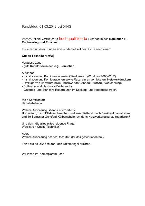 Deckblatt Vorlage Techniker Techniker Gesucht Bewerbung Techniker