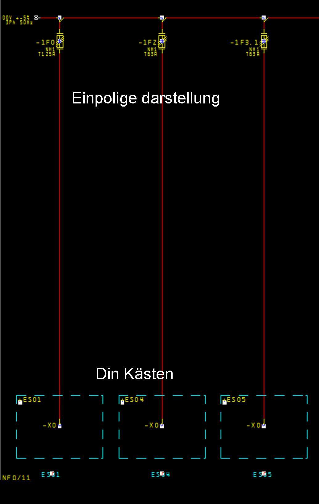 einpolige darstellung....!!!! (Elektrotechnik/EPLAN5) - Foren auf CAD.de