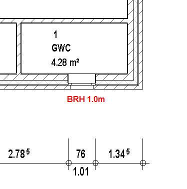 Sehr Brüstungshöhe im Grundriss (Autodesk/Autodesk REVIT) - Foren auf TT06