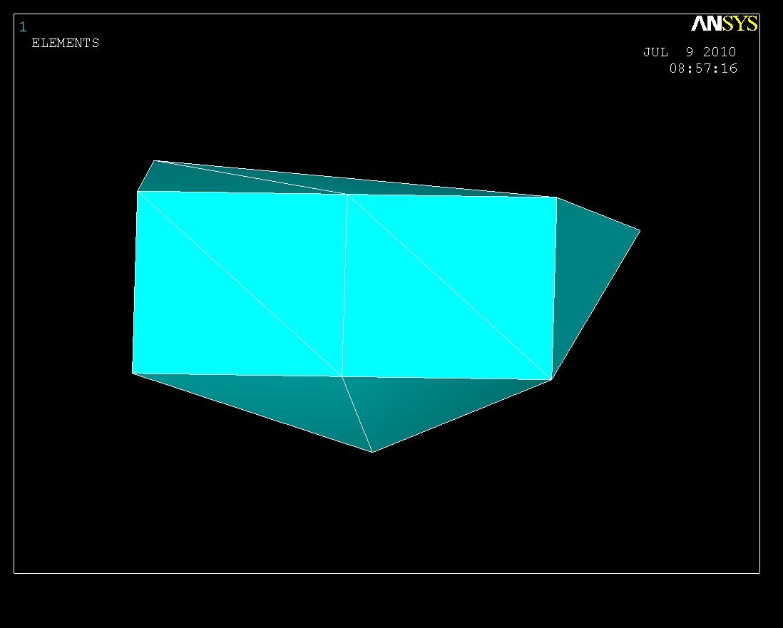 Elemente auswählen durch cmsel von Componente (FEM / Genormte