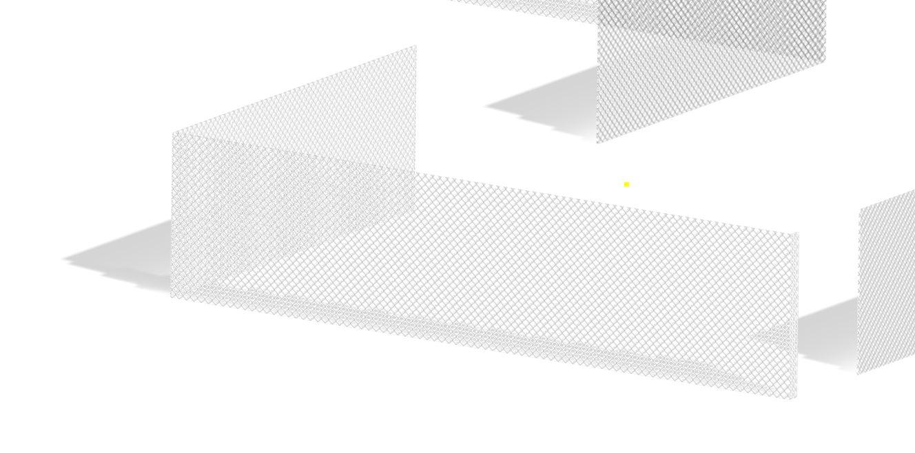 wie bekomme ich den Maschendrahtzaun wieder durchsichtig (Autodesk ...