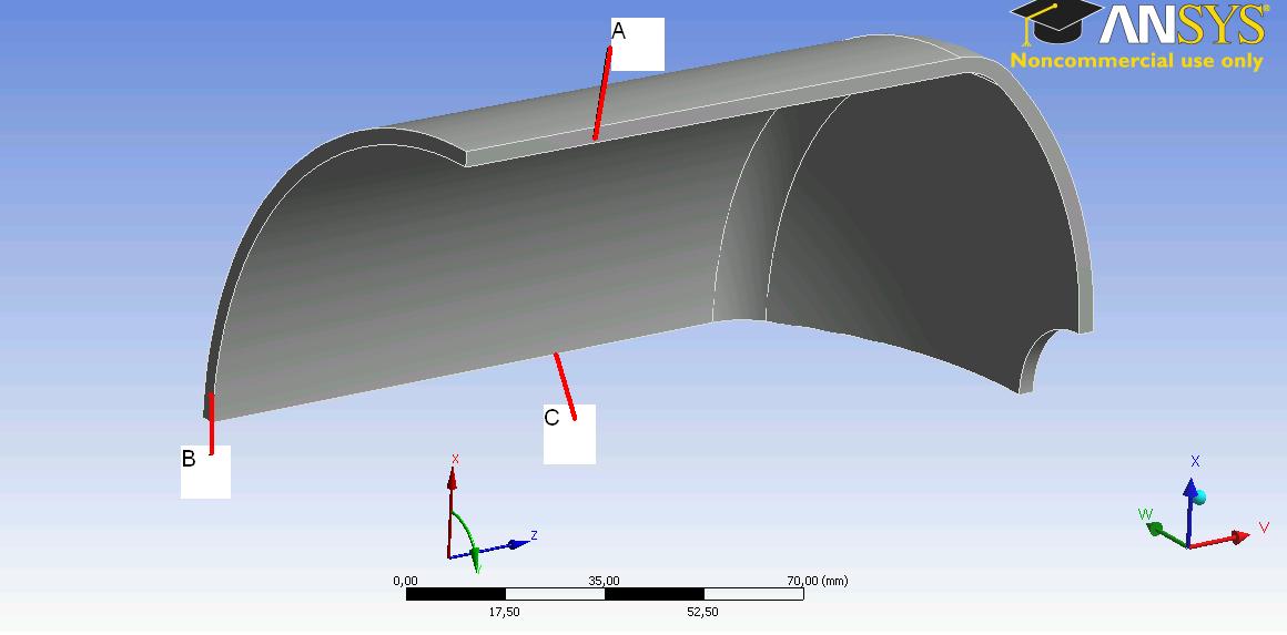 Symmetrie randbedingung workbench fem genormte for Fem randbedingungen