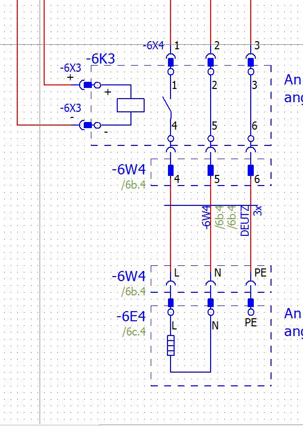 Darstellung von vorkonfektioniertem Kabel mit Stecker ...