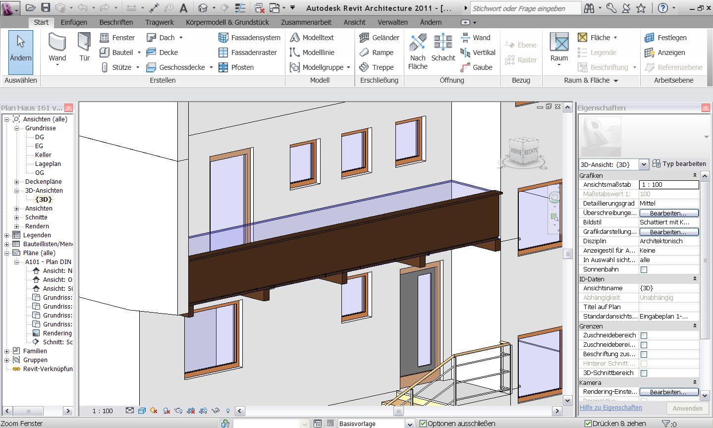 Carport Und Balkon Mit Tragwerk Autodesk Autodesk Revit Foren