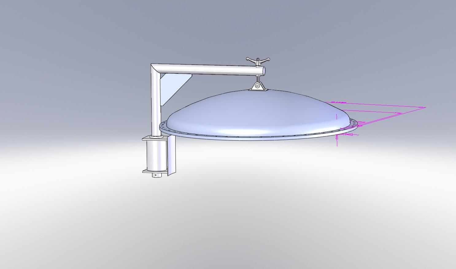 simulation eines galgens ds solidworks solidworks. Black Bedroom Furniture Sets. Home Design Ideas