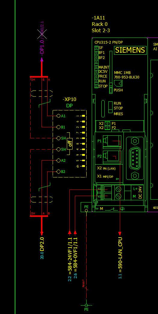 Bus verbindungen richtig aufbauen zeichnen elektrotechnik for Eplan login