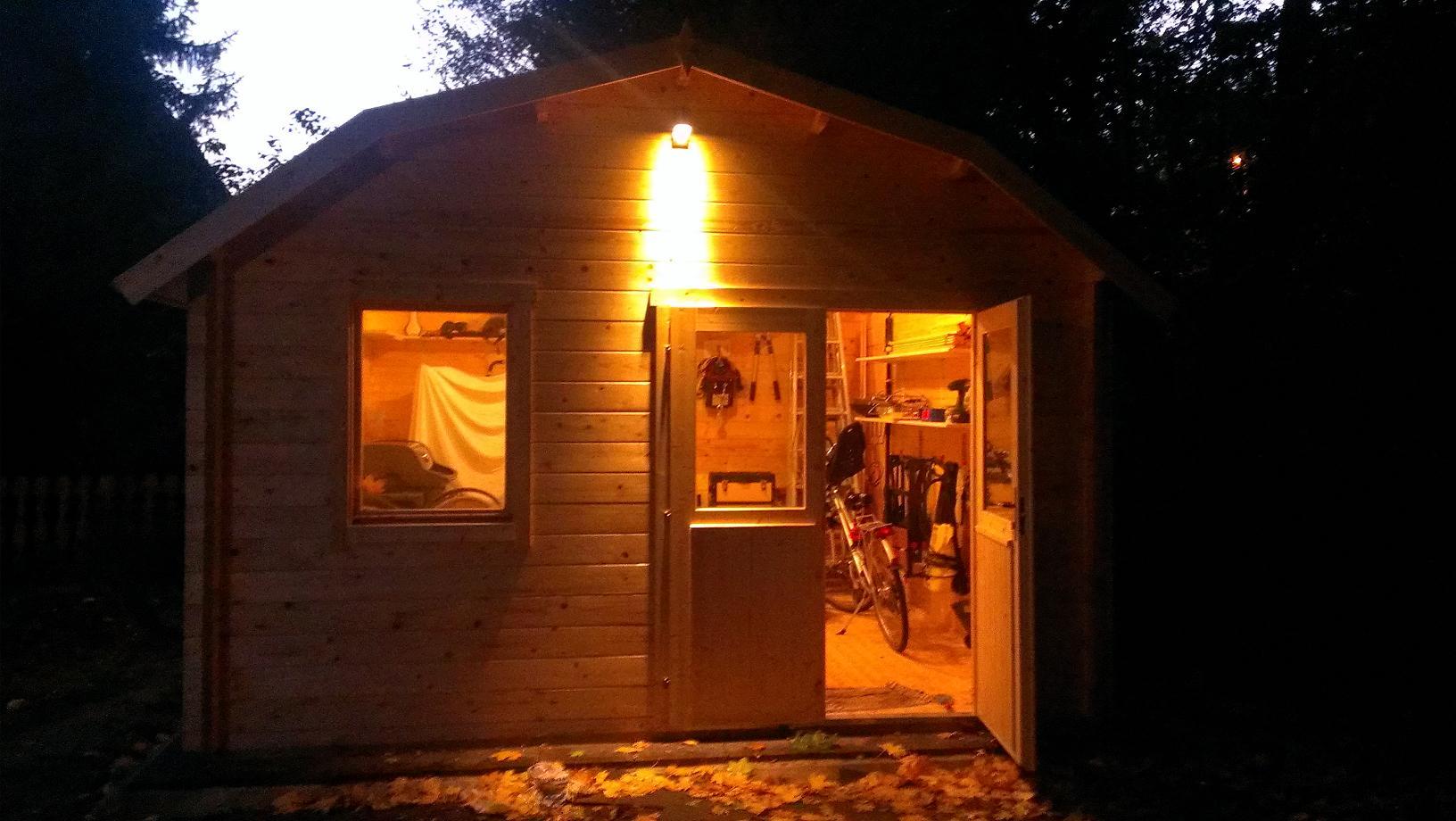 gartenhaus doppelt r gegen einbruch sichern plauderecke. Black Bedroom Furniture Sets. Home Design Ideas