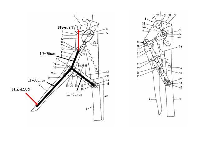 kniehebel berechnung wissenstransfer anlagen und. Black Bedroom Furniture Sets. Home Design Ideas