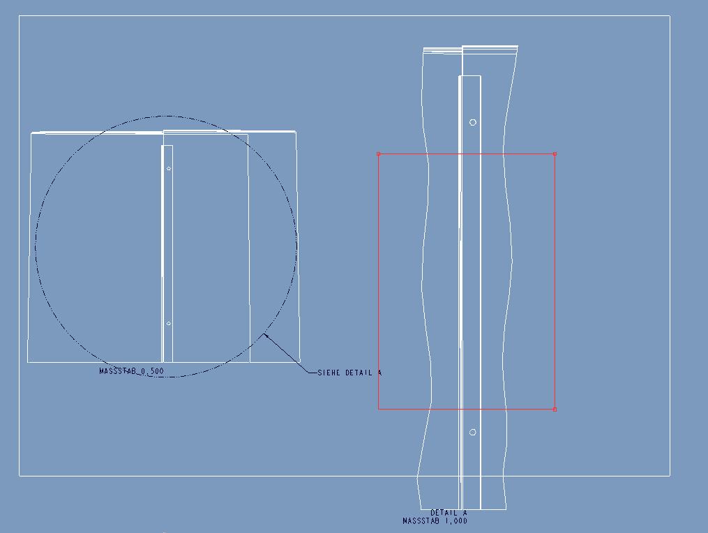 2d-Ansicht kürzen (PTC Engineering Solutions/Pro ENGINEER ...