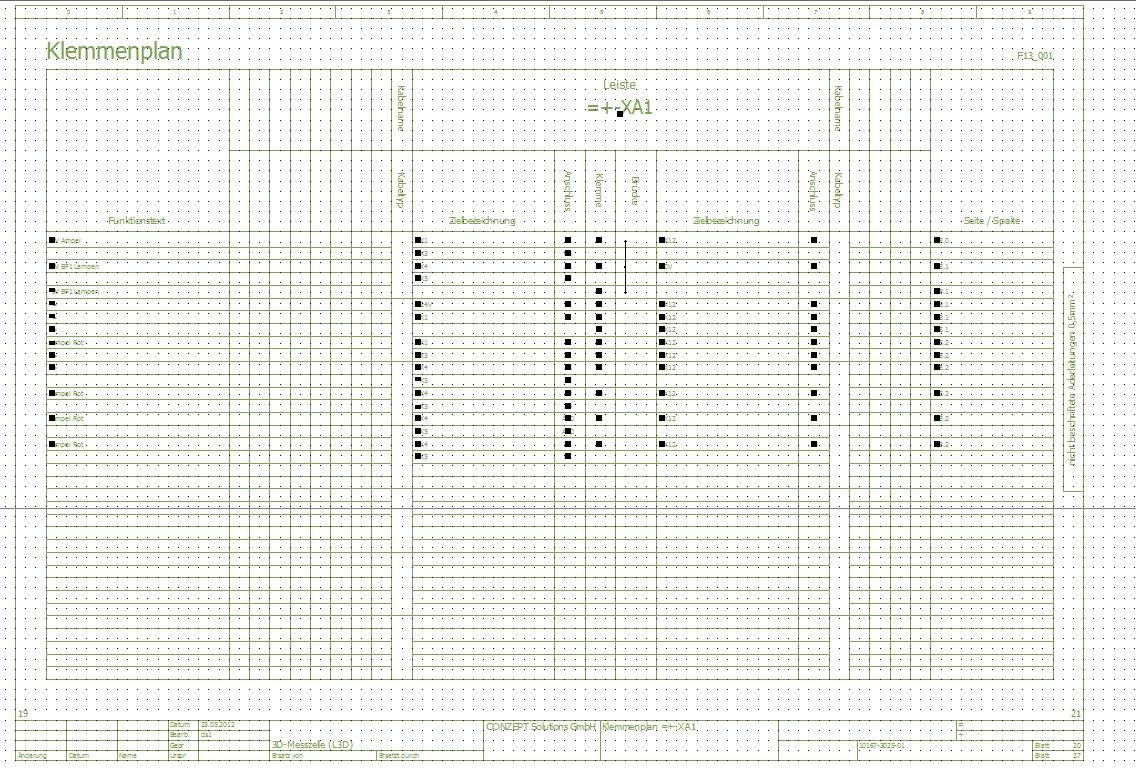 Tolle Kabelverbinder Klemmenplan Bilder - Der Schaltplan - triangre.info
